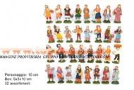 PERSONAGGI PRESEPE IN PVC BOX 32 ASS.DISP. ART.KS-32 cod 8033113320408