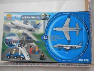 GRANDE CONFEZIONE TIPO LEGO CHE CONTIENE 434 PEZZI PER COMPORRE UN AEROPLANO !!! NELLA SCATOLA CI SONO ANCHE GLI OMINI !!!