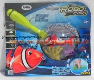!!! GIG !!! ROBOT FISH DE LUX (1 ROBOT FISH + RETINO + 2 CORALLI) COD NCR02190