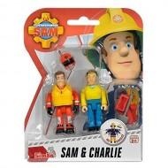 Sam il Pompiere - Fireman Sam - Sam & Charlie NCR18233 di Gig