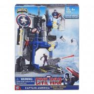 Marvel  Miniverse Playset - Rifugio di Captain America B5770-B6739