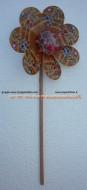 Girandole giravento, mulini a vento Ø Cm. 26 1 PEZZO con disegnato personaggi eroi