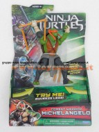 TARTARUGHE NINJA  MOVIE DELUXE , PERSONAGGIO MICHELANGELO CON MOVIMENTO GPZ91540