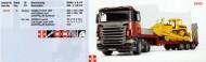 Bruder Scania con rimorchio 03555