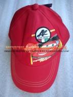Cappello Cars personaggio Saetta McQueen colore rosso