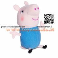 !!!! PEPPA PIG !!! PELUCHE DA 15 CM CON SUONI  CON FUNZIONAMENTO A PILA GEORGE COD CCP 04431