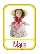 Grandi Giochi GG00140 - Bambola Cupcake, Maya