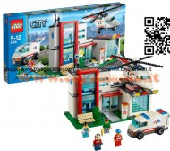 LEGO 4429 CITY® Elicottero di Salvataggio  City - Hospital Rescue Helicopter - 4429