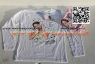 T-shirt VIOLETTA - Manica lunga colore BIANCO