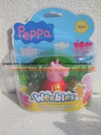 Peppa Pig Weebles - Peppa PIG sempre in piedi Con Wobble Base COD 05110