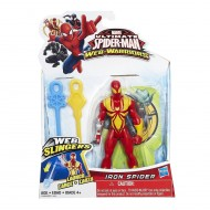 Spiderman Web Slingers Action Figures Iron Spider di HASBRO B0571-B1253