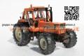 FIAT 1880 DT 4 WD ARANCIO SCALA 1/32 LIMITED EDITION 200 PEZZI PER ITALIA FUORI PRODUZIONE ULTIMI PEZZI
