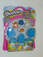 SHOPKINS BLISTER 5 SHOPKINS 3 SERIE 56003