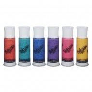 Doh Vinci - Refill Colori Sparkle X 6 RICARICHE CON GLITTER