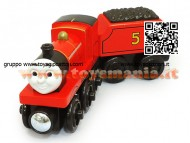 Mattel Trenino Thomas Fisher Price Y4070 - Veicolo James Large
