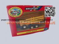 BRITAIN ERTL RIMORCHIO TRASPORTO ANIMALI IN METALLO SCAL 1/32 COD 9555