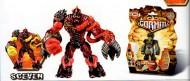 !!! GORMITI 2012 !!! NUOVISSIMA SERIE DA 10 CAMBIA COLORE CON CARTA OLOGRAFICA ,PERSONAGGIO SCEVEN ,toys , BRINQUEDOS ,JUGUETES , JOUETS , giocattolo COD 02620