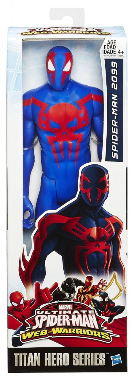 marvel spider man titan hero series spider man 2099 figure toys mania giocattoli