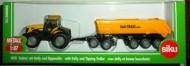 Siku modellino Fastrack  JCB 8250 con semirimorchio e dolly Half Traxx