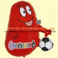 Grabo palloni gonfiabili Barbapapa rosso