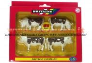 BRITAINS ACCESSORI PER MODELLISMO AGRICOLO ANIMALI SET BOVINI hereford SCALA 1/32 COD 40964
