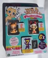 Paciocchini Twozies blister 3 personaggi e 3 animaletti - Twozies  FOXA - Twozies SPEEDIE , animaletto CHARGY come foto