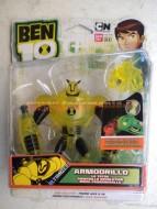 BEN 10 , BEN TEN ULTIMATE ALIEN PERSONAGGIO  ARMADILLO ARMODRILLO ULTIMIZED COD 37738 ( CONFEZIONE ROVINATA , MA PRODOTTO INTEGRO )