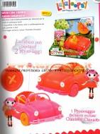 !!! LALALOOPSY  !!! LALALOOPSY nuova CABRIO RADIOCOMANDATA , PUO' OSPITARE DUE PERSONAGGI 1 INCLUSO CHARLOTTE CHARADES ,toys , BRINQUEDOS ,JUGUETES , JOUETS , giocattol GIOCHI PREZIOSI COD 01206
