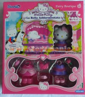!!!! HELLO KITTY !!! FAIRY BOUTIQUE ,PERSONAGGI CON VESTITI E ACCESSORI MODELLO HELLO KITTY LA BELLA ADDORMENTATA COD 86213