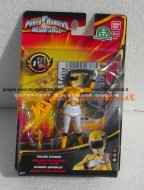 POWER RANGER MEGAFORCE PERSONAGGI 10 CM , YELLOW RANGER, GIALLO  NCR 35100