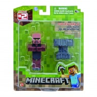 Minecraft Villager Blacksmith, figura articolata con accessori NCR16560