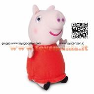 !!!! PEPPA PIG !!! PELUCHE DA 15 CM CON SUONI  CON FUNZIONAMENTO A PILAMODELLO PEPPA PIG COD CCP 04431