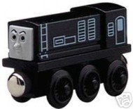 !!!! NOVITA' TRENINO THOMAS !!!! trenino Thomas and Friends personaggio  DEVIOUS DIESEL in legno cod LC 99013