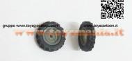 Coppia ruote 03 - x2 X MODIFICA TRATTORE SCALA 1/32