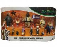Zootropolis, Multi Pack con 14 Personaggi di Tomy  L70913