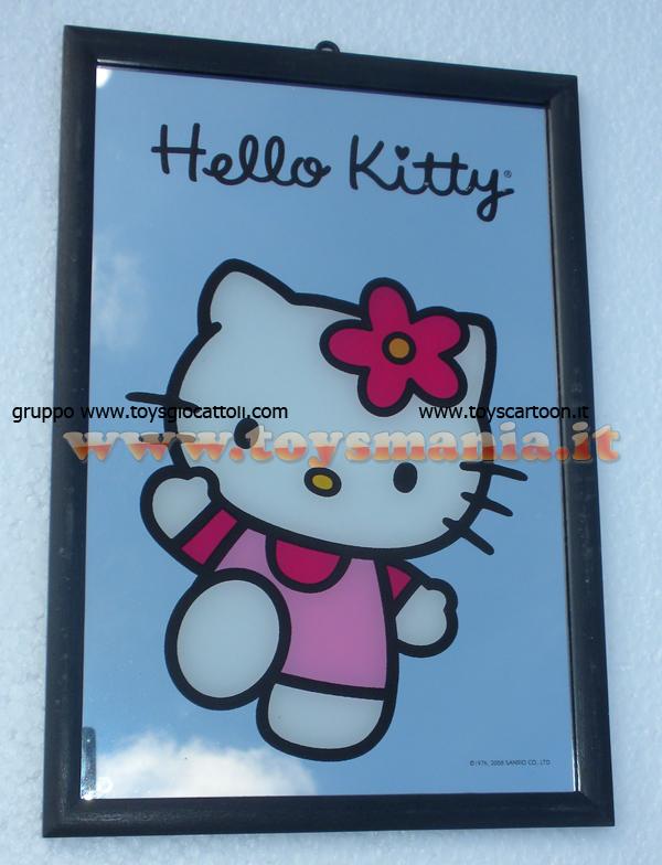 Specchio hello kitty 20x30 circa running to you