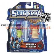 !!!!!  Slugterra giocattoli !!!!! novità  personaggio in blister  2- pezzi - Slugterra Spinner &  slugterra Bludgeon
