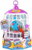 Cocoritos Little Live Pets con gabbietta Season 3 Bird With Cage - Funky Feathers