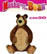 masha e orso peluche orso 50 cm originale