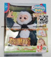 EMOTION PETS !!!! PLAYFULF !!!! SPLAYFULF ONO SCIMMIETTE CHE AMANO DORMIRE A TESTA IN GIU'  NUTTY  8001444439076 COD 30270
