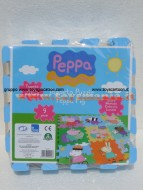 TAPPETO PUZZLE MULTIUSO  PEPPA PIG COD GCH22005