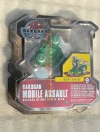 !!!!! NOVITA'  !!!!!BAKUGAN MACCHINE DA  ASSALTO MOBILE ASSAULT BAKUGAN DELUXE BATTLE GEAR MODELLO  KOPTORIX VERDE  COD 12518