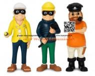 Micki® - Personaggi il capitano e i 2 ladri cod 44.3693