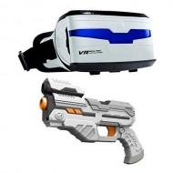VR Real Feel Alien Blaster con Visore e Pistola di Giochi Preziosi