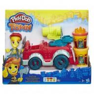 Playdoh Town - Il Camion dei Pompieri B3416 di Hasbro