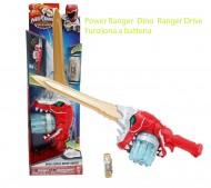 Power Ranger Spada Dino Super Drive Sabre Super change - Funziona a batteria incluse nel prezzo