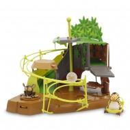 Giochi Preziosi - Vita da Giungla Playset Gioco la Tana Segreta con 3 Personaggi, 28 cm