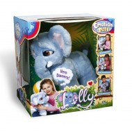 Emotion Pets, Lolly Elefante Peluche Interattivo con Palla di Giochi Preziosi CCP25070