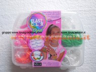 CREATIV ELASTIC COLOUR DI NICE GROUP - 600 ELASTICI MULTICOLOR PER CREARE COLLANE , BRACCIALI E ANELLI !!