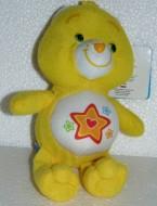 Superstar Orsa 20cm Soffice Peluche Gli orsetti del cuore Care Bears Giallo stella Rosso Orso